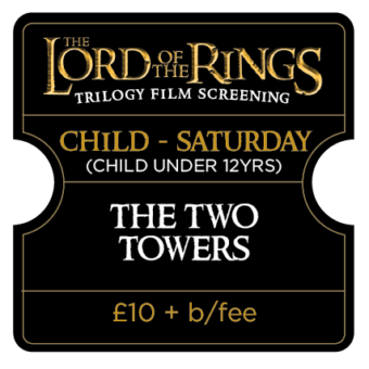Lord of the Ring Trilogy Screening - Child U12 Saturday